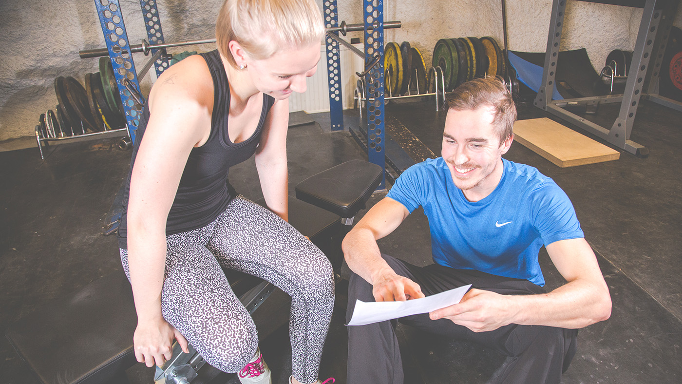 Personal trainer ravintovalmennus Tampere